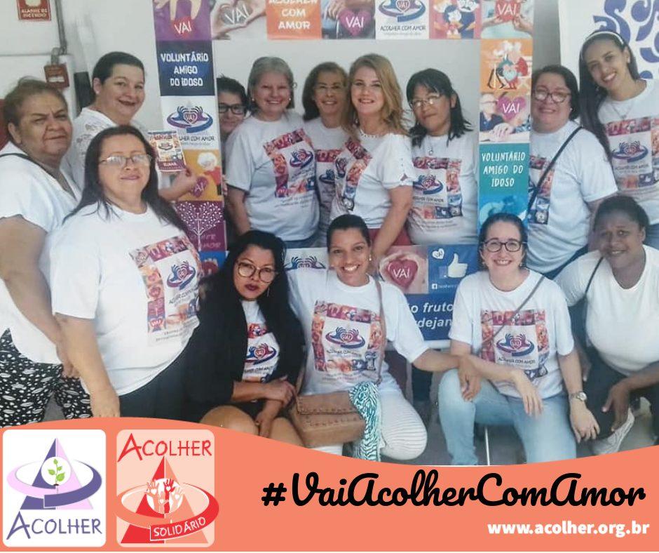 Programa de Voluntariado #VaiAcolherComAmor